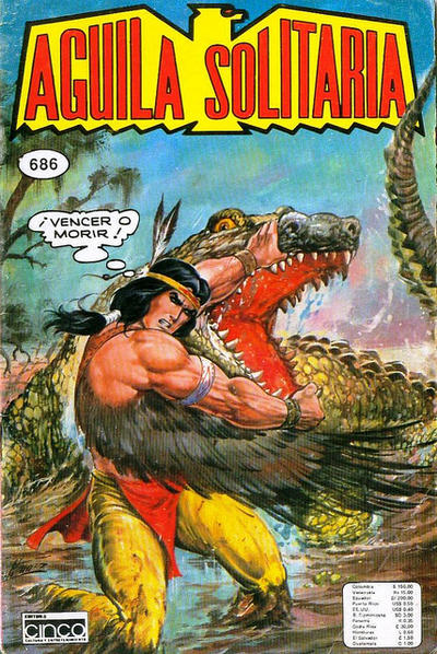 Cover for Aguila Solitaria (Editora Cinco, 1976 ? series) #686
