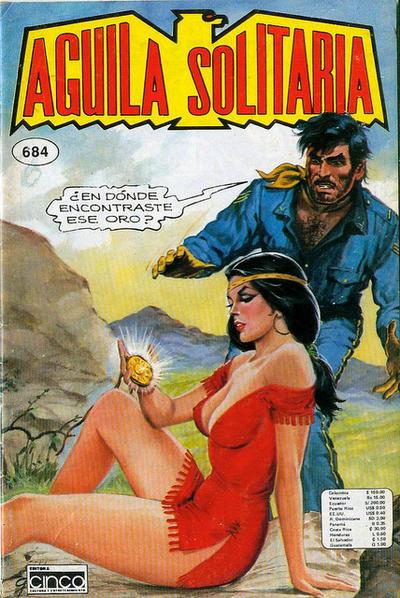 Cover for Aguila Solitaria (Editora Cinco, 1976 ? series) #684