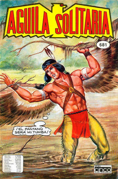 Cover for Aguila Solitaria (Editora Cinco, 1976 ? series) #681