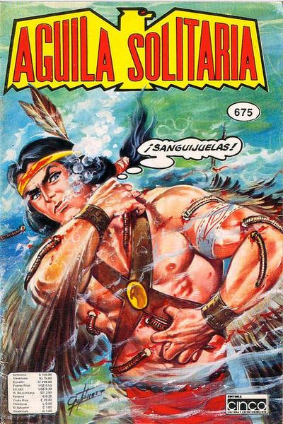 Cover for Aguila Solitaria (Editora Cinco, 1976 ? series) #675