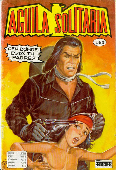 Cover for Aguila Solitaria (Editora Cinco, 1976 ? series) #580
