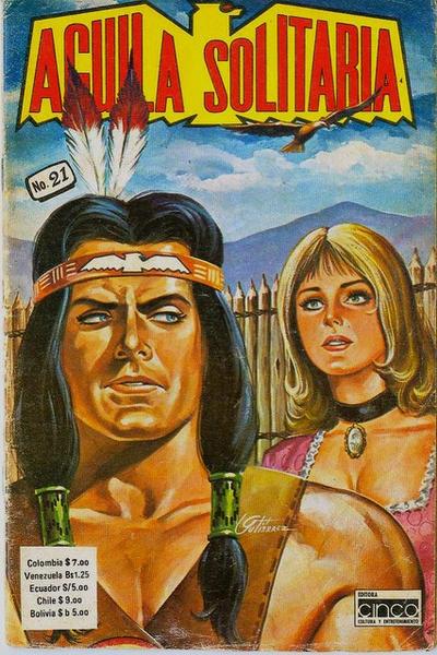 Cover for Aguila Solitaria (Editora Cinco, 1976 ? series) #21