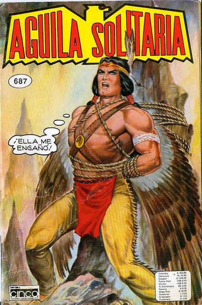 Cover for Aguila Solitaria (Editora Cinco, 1976 ? series) #687