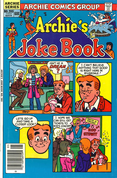 Cover for Archie's Joke Book Magazine (Archie, 1953 series) #285