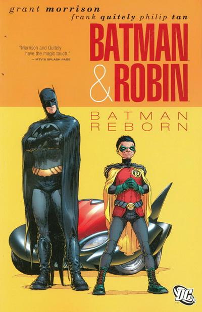 Cover for Batman and Robin (DC, 2011 series) #[1] - Batman Reborn
