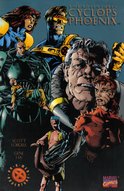 Cover for The Adventures of Cyclops and Phoenix (Marvel, 1995 series)