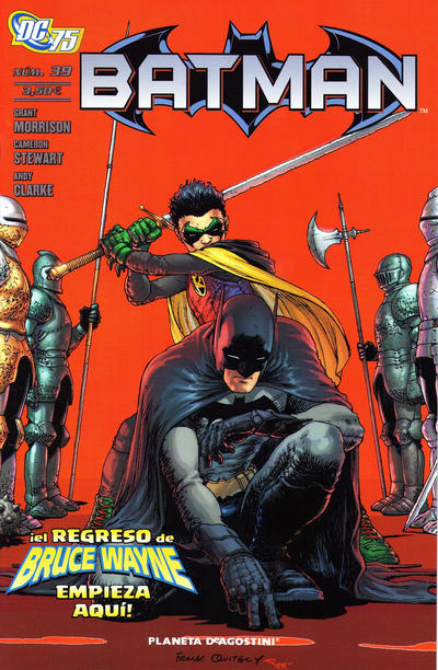 Cover for Batman (Planeta DeAgostini, 2007 series) #39