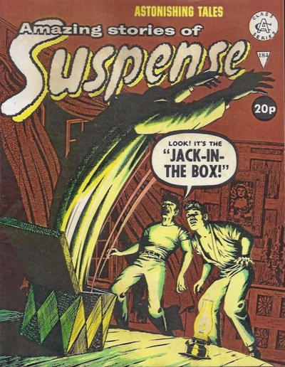 Cover for Amazing Stories of Suspense (Alan Class, 1963 series) #184