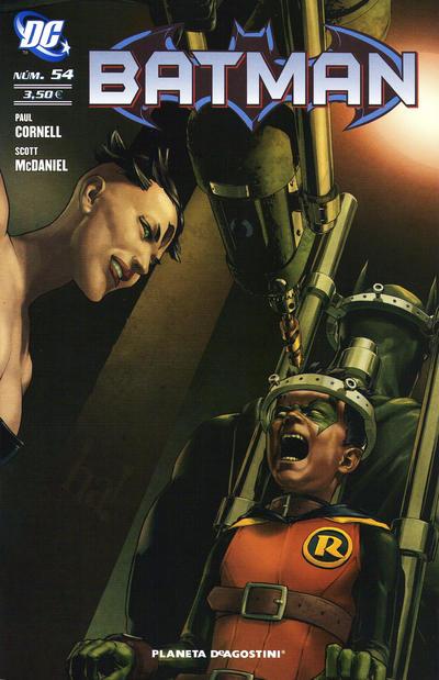 Cover for Batman (Planeta DeAgostini, 2007 series) #54