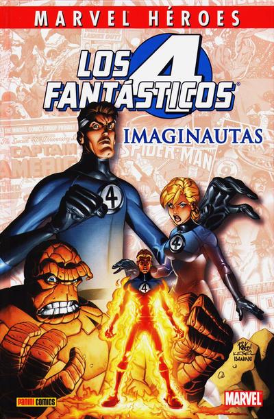Cover for Coleccionable Marvel Héroes (Panini España, 2010 series) #2 - Los 4 Fantasticos: Imaginautas