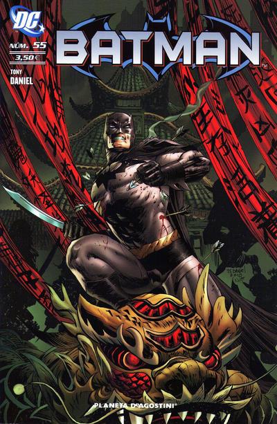 Cover for Batman (Planeta DeAgostini, 2007 series) #55