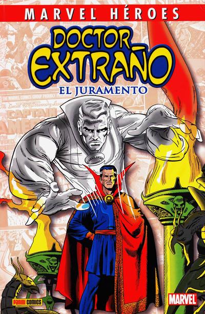 Cover for Coleccionable Marvel Héroes (Panini España, 2010 series) #8 - Doctor Extraño: El Juramento