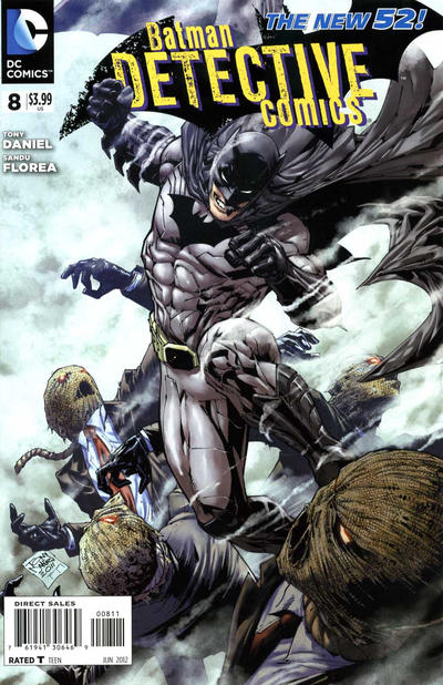 Cover for Detective Comics (DC, 2011 series) #8