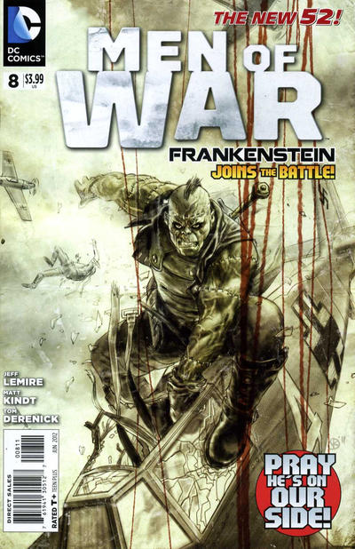 Cover for Men of War (DC, 2011 series) #8