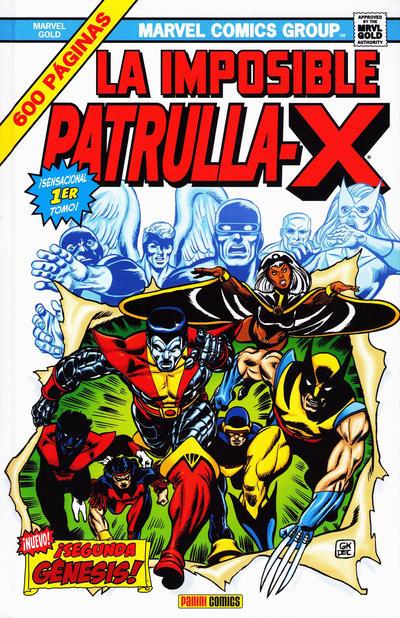 Cover for Marvel Gold. La Imposible Patrulla-X (Panini España, 2011 series) #1 - Segunda Génesis