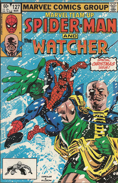 Cover for Marvel Team-Up (Marvel, 1972 series) #127 [Canadian]