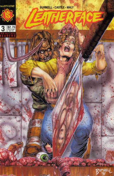 Cover for Leatherface (Northstar, 1991 series) #3