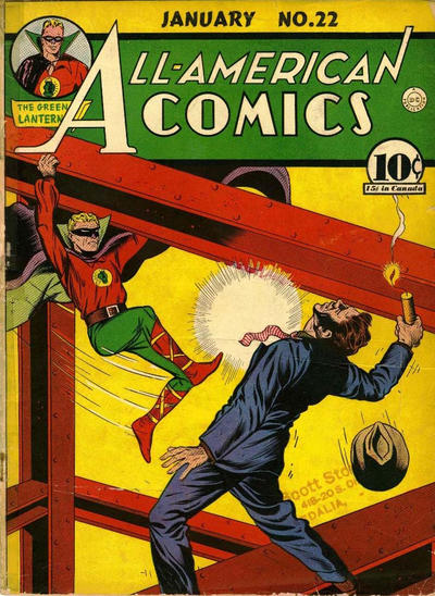 Cover for All-American Comics (DC, 1939 series) #22