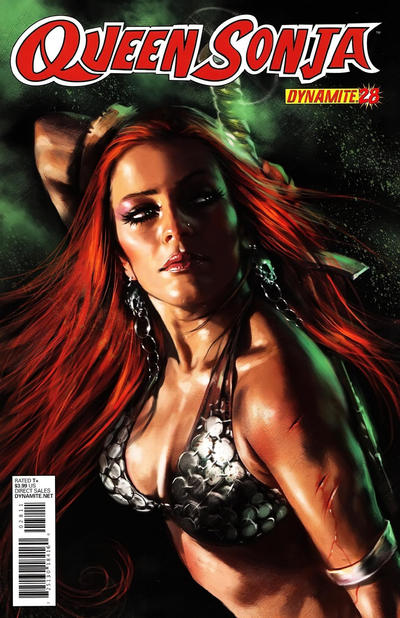 Cover for Queen Sonja (Dynamite Entertainment, 2009 series) #28 [Lucio Parrillo Cover]