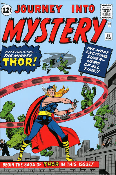 Cover for The Mighty Thor Omnibus (Marvel, 2010 series) #1