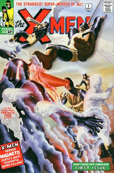Cover for The X-Men Omnibus (Marvel, 2009 series) #1 [Alex Ross Cover]