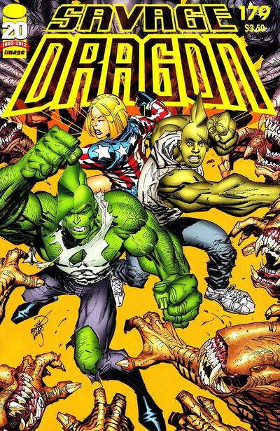Cover for Savage Dragon (Image, 1993 series) #179