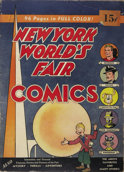 Cover for New York World's Fair Comics (DC, 1939 series) #[1] [Price Variant]
