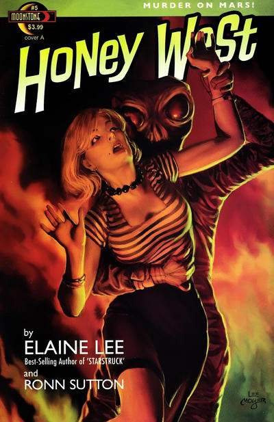 Cover for Honey West (Moonstone, 2010 series) #5 [Cover C]
