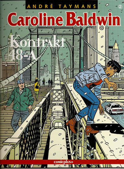 Cover for Caroline Baldwin (comicplus+, 2001 series) #2 - Kontrakt 48-A
