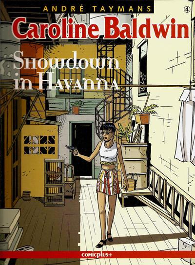 Cover for Caroline Baldwin (comicplus+, 2001 series) #4 - Showdown in Havanna
