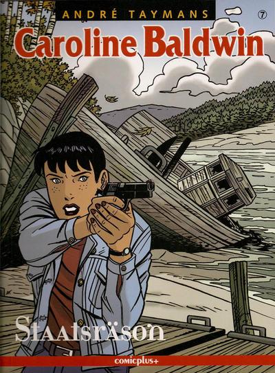 Cover for Caroline Baldwin (comicplus+, 2001 series) #7 - Staatsräson
