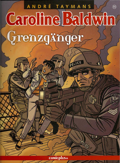 Cover for Caroline Baldwin (comicplus+, 2001 series) #11 - Grenzgänger