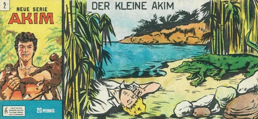 Cover for Akim (Bozzesi Verlag, 1960 series) #2