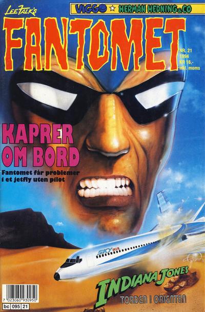 Cover for Fantomet (Semic, 1976 series) #21/1994