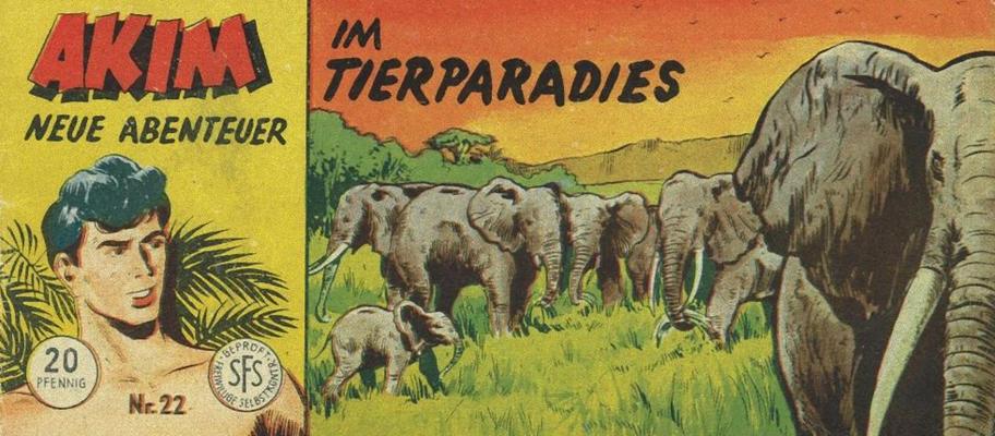 Cover for Akim Neue Abenteuer (Lehning, 1956 series) #22