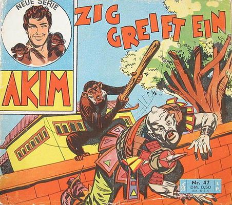 Cover for Akim (Bozzesi Verlag, 1960 series) #47