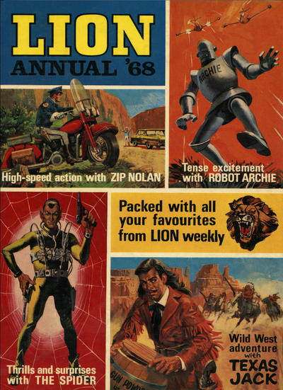 Cover for Lion Annual (Fleetway Publications, 1954 series) #1968