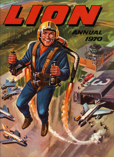 Cover for Lion Annual (Fleetway Publications, 1954 series) #1970