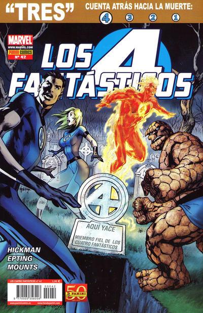 Cover for Los 4 Fantásticos (Panini España, 2008 series) #42