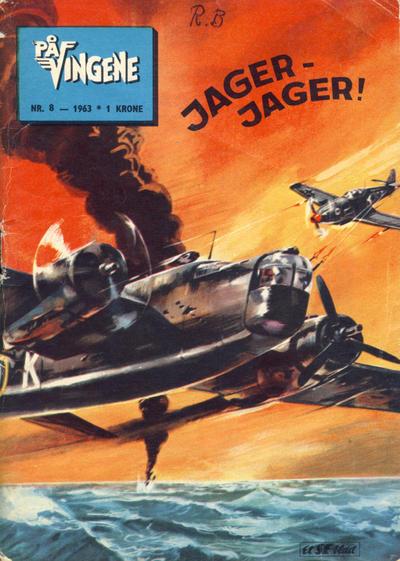 Cover for På Vingene (Serieforlaget / Se-Bladene / Stabenfeldt, 1963 series) #8/1963