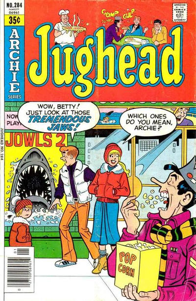 Cover for Jughead (Archie, 1965 series) #284