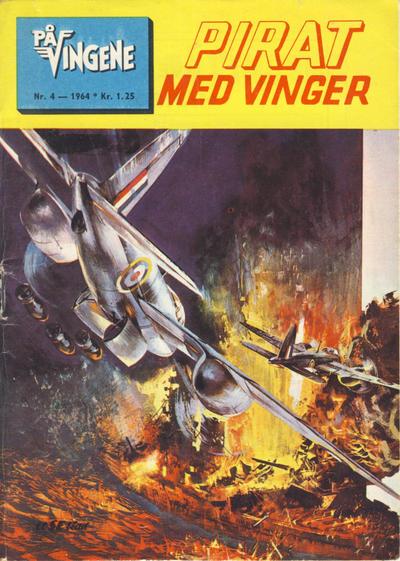 Cover for På Vingene (Serieforlaget / Se-Bladene / Stabenfeldt, 1963 series) #4/1964