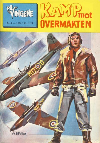 Cover for På Vingene (Serieforlaget / Se-Bladene / Stabenfeldt, 1963 series) #2/1964