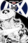 Cover Thumbnail for Avengers vs. X-Men (2012 series) #1 [Sketch Variant Cover by Ryan Stegman]