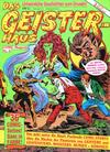 Cover for Das Geisterhaus (Condor, 1989 series) #4