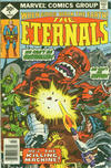 Cover for The Eternals (Marvel, 1976 series) #9 [Whitman Edition]