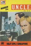 Cover for Manden fra U.N.C.L.E. (Interpresse, 1968 series) #6