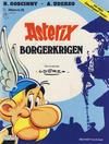 Cover Thumbnail for Asterix (1969 series) #25 - Borgerkrigen [3. opplag Reutsendelse 147 34]