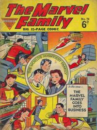 Cover Thumbnail for The Marvel Family (L. Miller & Son, 1950 series) #78