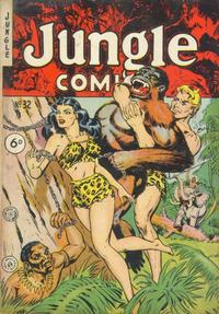 Cover Thumbnail for Jungle Comics (H. John Edwards, 1950 ? series) #32
